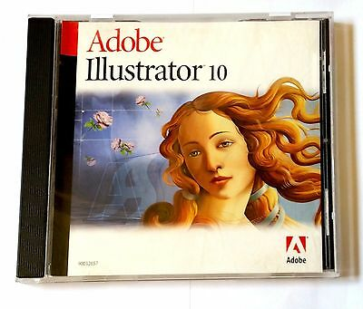 Adobe Illustrator 10 Windows deutsch Vollversion MWST Retail