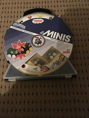 Thomas Minis Dc Super Friends Collectors Play wheel Carrycase