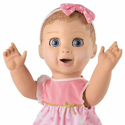 Luvabella  Responsive Baby Doll Blond!  Real Expressions and Movement Luva bella