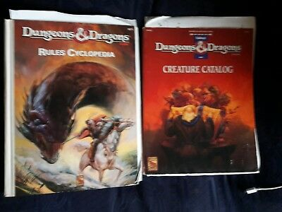 OD&D Rules Cyclopedia and Creature Catalogue