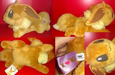 Peluche Pokemon Evoli I Love Eevee DX Banpresto 2013 (Version Allonger)