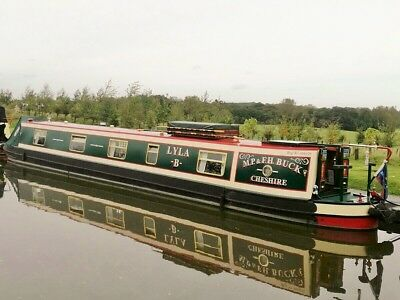 Lyla B - Immaculate 57 foot traditional stern narrowboat