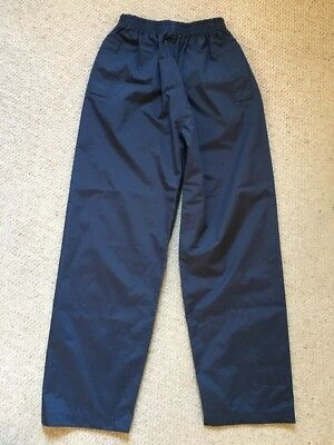 Peter Storm Children's Navy Waterproof Trousers Age 11-12 Years