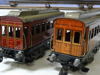 Jep 2 wagons woyageurs  1920  compatible Hornby Bing
