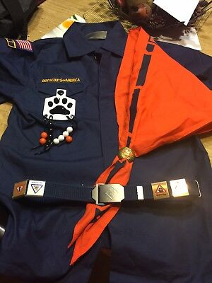Cub Scout Shirt and Tiger cub bundle(Boy Scouts of America official items)