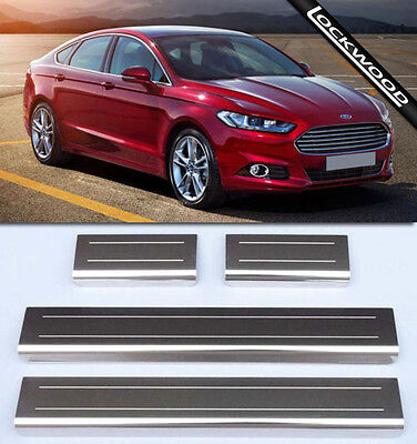 Ford Mondeo MK5 (released 2014) Sill Protector / Kick Plates