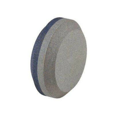 Dual Grit Sharpener Round Knife Sword Axe Blade Stone Ideal Tool Edge Easy Grip