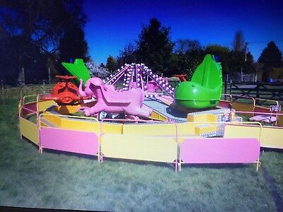 Kids Juvenile Liftup 22ft 24 seats fairground showmens