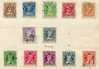 INDIA  (Feudal States) - Small collection MH/Cancelled