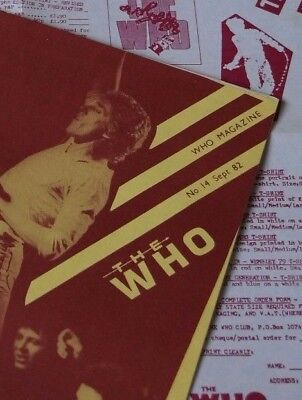 The Who Merchandise