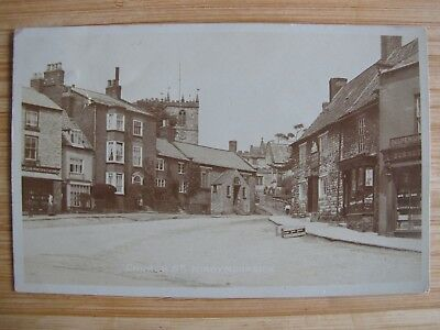 Old RPPC Church St KIRBYMOORSIDE Yorks real photo postcard
