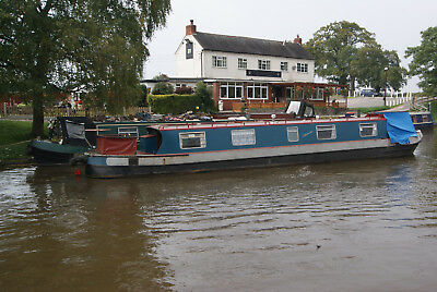 Shebrokeus -48 foot cruiser stern narrowboat