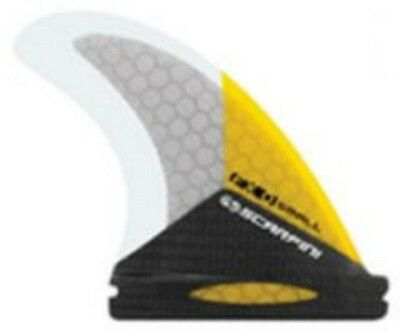 Scarfini FX0 Carbon Base Thruster Surfboard Fin Futures Compatible