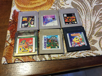 Lot of 6 Games ( Game Boy )