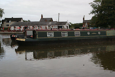 Corvedale - 50 foot semi-traditional stern narrowboat