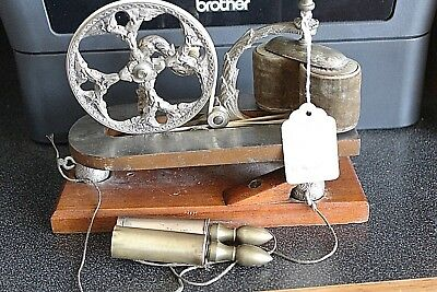 Quack medical coils electric machine. Late 1800s from the estate of Dr. Lindan