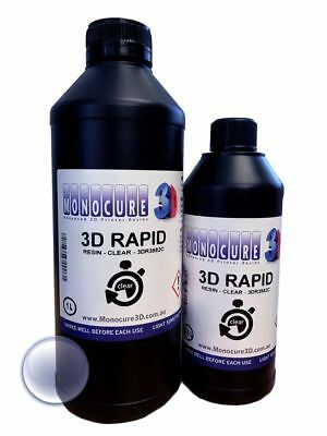 Monocure 3D Rapid Resin - 500 ml - Clear