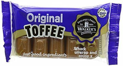 WALKERS NONSUCH Original Creamy Toffee Bars in Traditional Tin Tray 100 g Pack