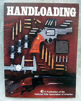 1981 Handloading Manual, published by the National Rifle Association publication