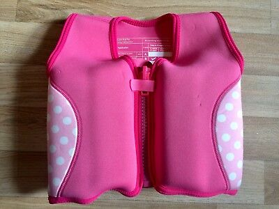 ❤ Fantastic Mothercare  Swim / Float Vest ~ Age 2-3 Years Pink Swimming Jacket ❤