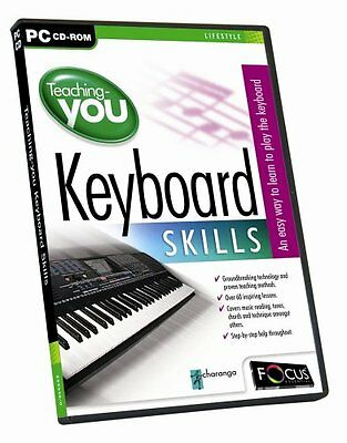 Teaching You Keyboard Skills PC CD ROM New And Sealed