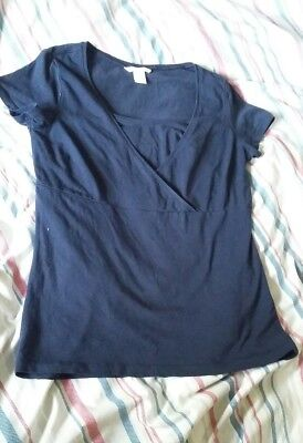 H&M mama nursing breastfeeding top size M
