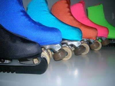 Ice Roller Skating Skate Boot Covers Various Colours + Sizes