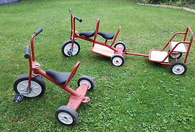 Childrens trikes with trailer