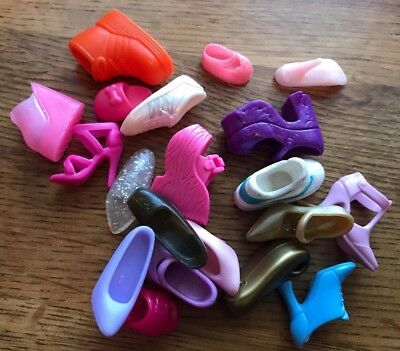 Bundle Of Fashion Doll Shoes - Sindy / Barbie / Tressy???? - All Odd Shoes