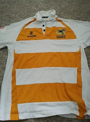 london wasps rugby shirt