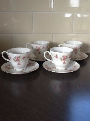 Duchess China June Bouquet cups and saucers