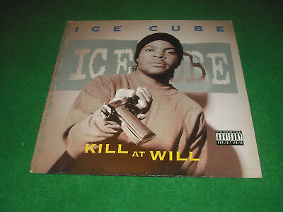 Ice Cube  -  Kill At Will  -  Ep Island Records  Made In  Germany