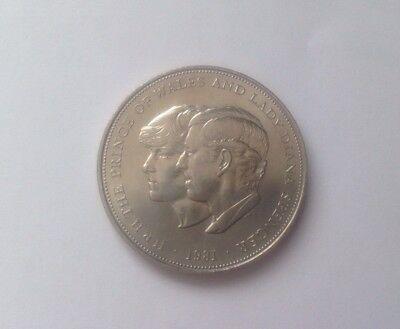 1981Jubilee Wedding Charles Princess Diana Crown Coin Uncirculated FREE POSTAGE