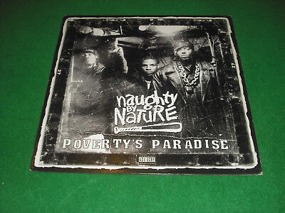 NAUGHTY BY NATURE  -  POVERTY'S PARADISE -  TOMMY BOY  made in USA