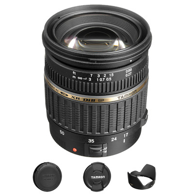 Tamron Zoom Super Wide Angle SP AF 17-50mm f/2.8 XR Di II Lens for Canon