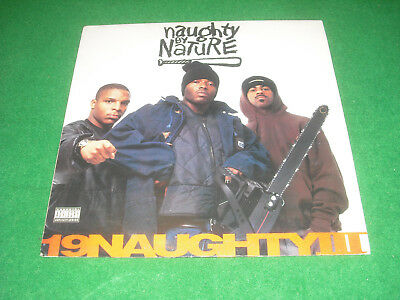 NAUGHTY BY NATURE  -  19 Naughty III  -  FLYING RECORDS  made in ITA