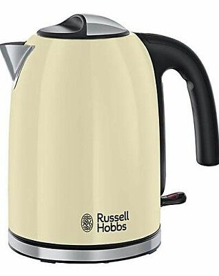 NEW Russell Hobbs 20415 Colours Plus Kettle - Cream 3kw