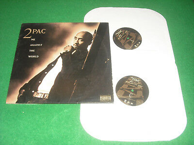 2PAC  -  ME AGAINST THE WORLD  -  INTERSCOPE RECORDS 1995  MADE in USA