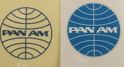 Pan Am Airlines stickers