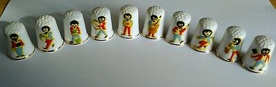 Robertson's Jam Collectable Thimbles