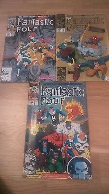 Fantastic Four issues 347-349