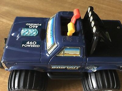 Vintage 1984 Playschool Bigfoot 4x4 Monster Truck No Key Boxed Great Condition