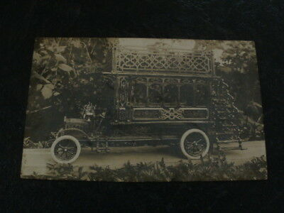 Antique RPP Early 1900s Passenger Vehicle - Photo by H.W.Flatt of Boxmoor