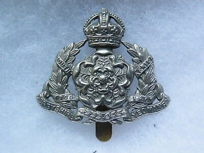 Cap badge The Derbyshire Yeomanry WW II