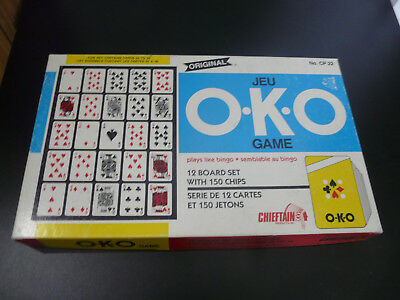 Original O.k.o Board Game No. Cp 22