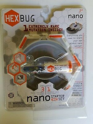Hexbug Nano Starter Set  Micro Robotic Creature New in Box