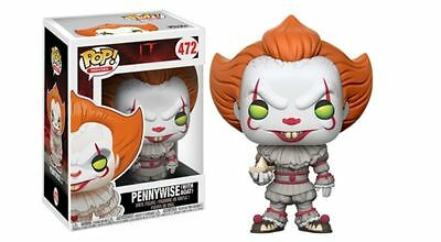 Preorder Pop! Funko Pennywise With Boat It Clown Regular Rare Raro 472 Limited