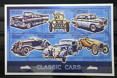 Grenada Grenadines 1996 cars MNH