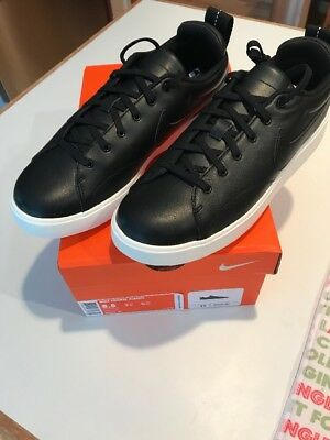Nike Course Classic Golf Shoes New In Box Size 8.5 Spikeless 905232-001