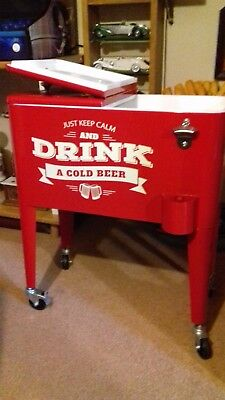 New  Retro Drinks Cooler For Your Games Room /  Juke And Slot Man Cave